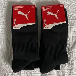 Power 5 Puma Soccer Socks - 2 Pair